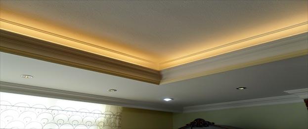 نور مخفی سقف