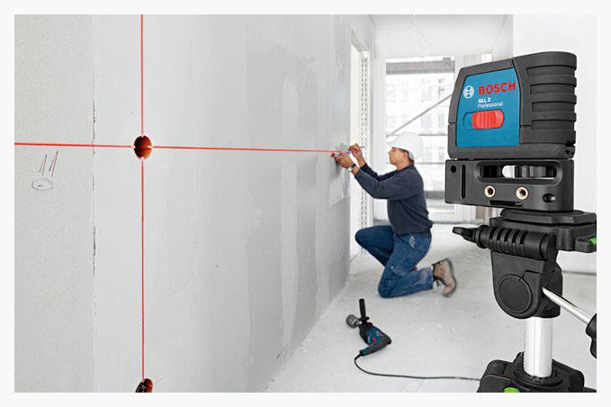 روش کار با تراز لیزری
