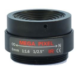fix lens cctv