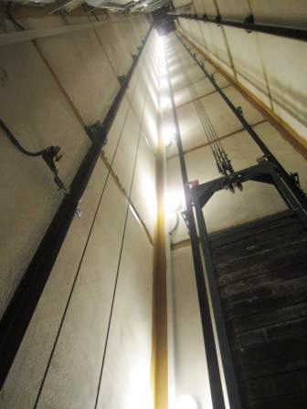 چراغ های تونلی چاله آسانسور