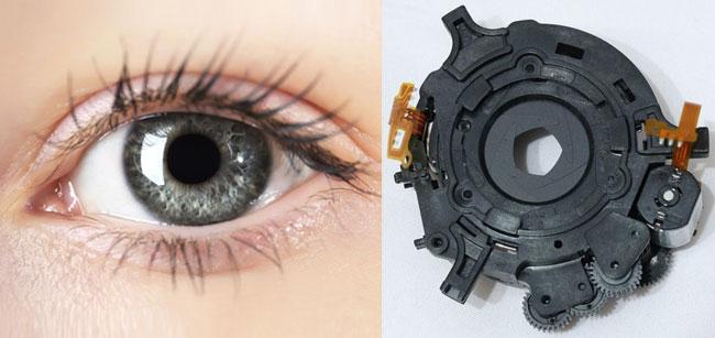 تفاوت چشم و F-STOP