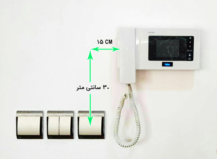محل نصب کلید برق