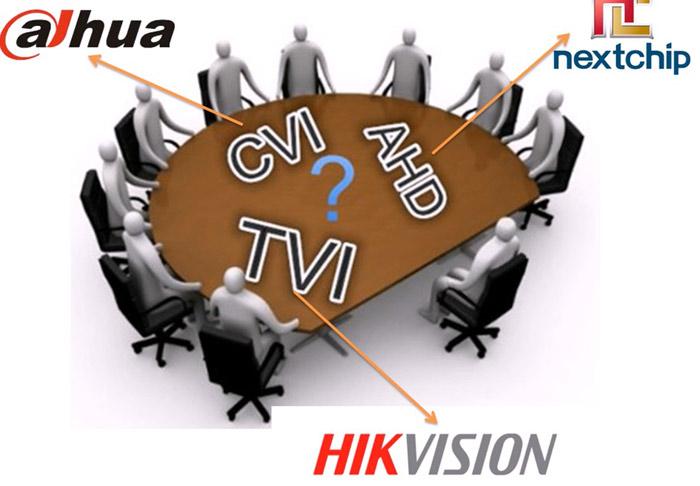 مقایسه دوربین مداربسته AHD ، HDCVI ، HDTVI
