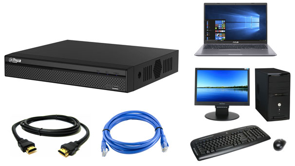 روش اتصال دستگاه DVR به کامپيوتر يا لپ تاپ